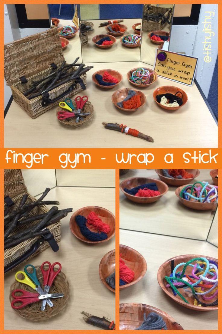 Finger Gym - wrap a stick