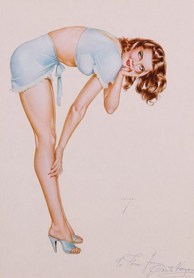 ALBERTO VARGAS' PIN-UP GIRLS