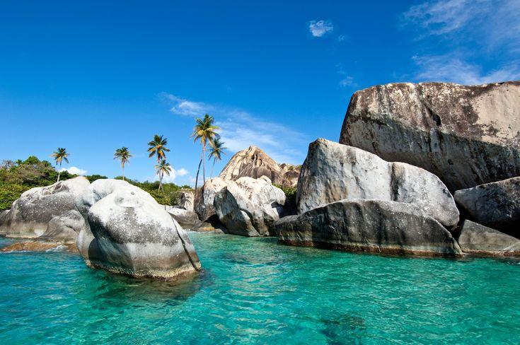 The Baths. Virgin Gorda, British Virgin Islands.