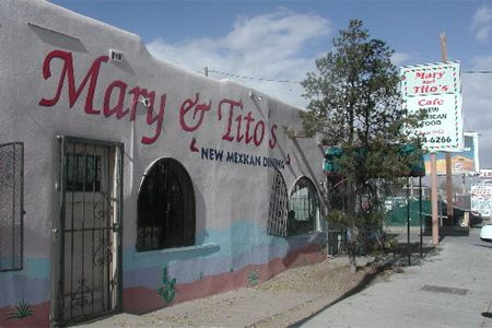 Mary & Tito's Cafe - 2014 Top 10 Mexican Restaurants in the U.S. Albuquerque Area | Gayot