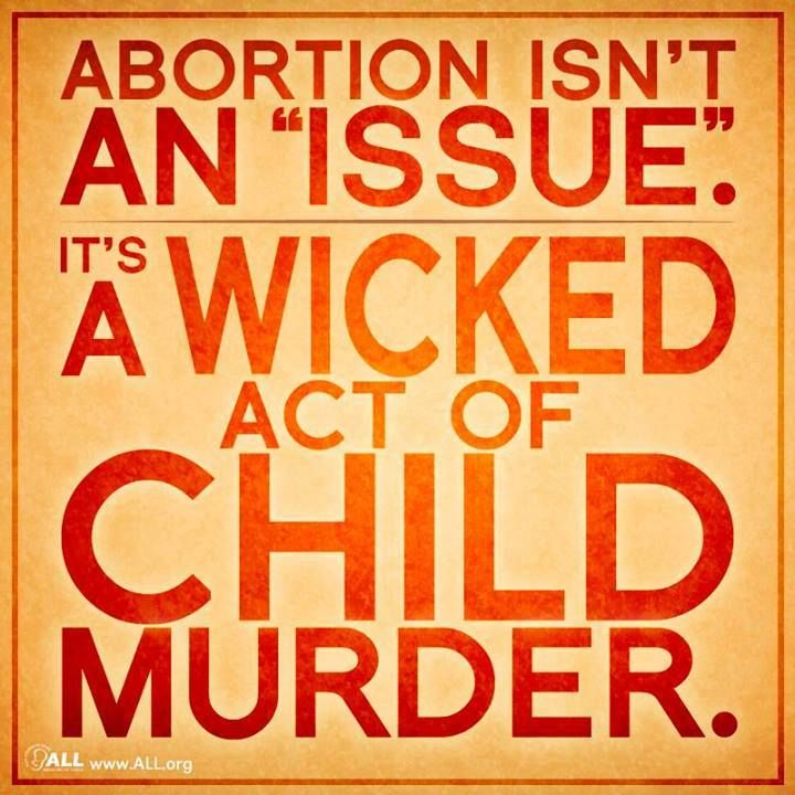 is abortion murder The difficulty in the stance taken by the idea i respond to is that abortion is an intractable issue, to be honest as was written, whether or not abortion is murder depends on what one.