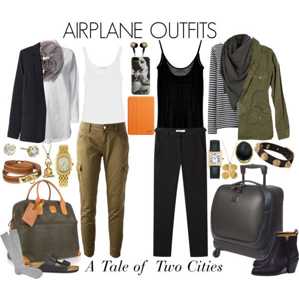 A Tale of Two Cities: Airplane Outfits