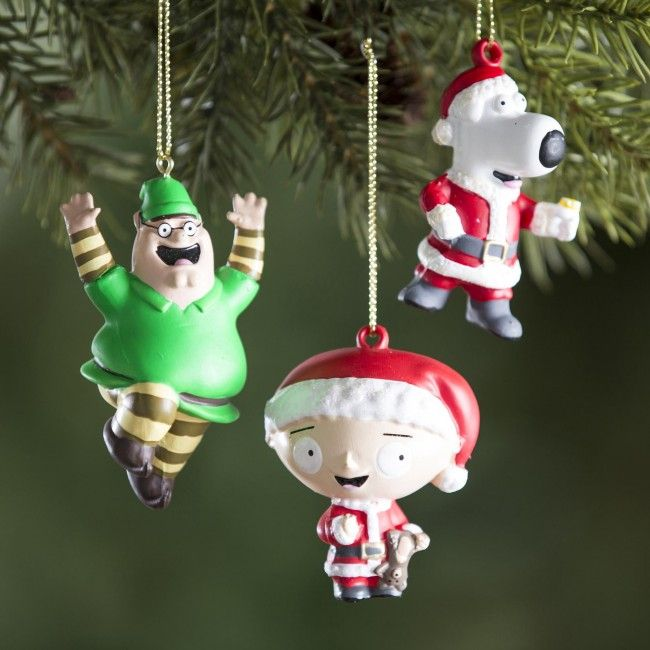 These Family Guy Christmas ornaments are just like that time that Peter...