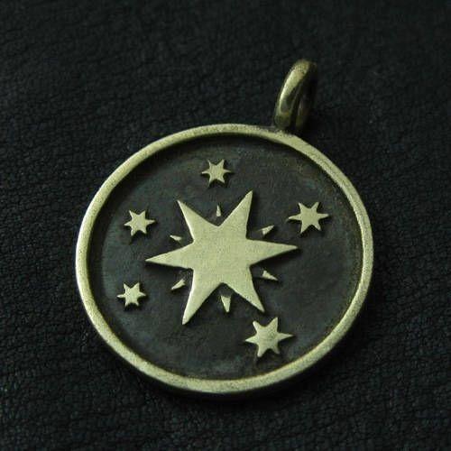Bronze Twilight Sparkle pendant