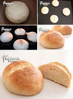 Bayatlamayan Ev Ekmeği Tarifi | Kadınca Tarifler | Oktay Usta - Kolay ve Nefis Yemek Tarifleri Sitesi