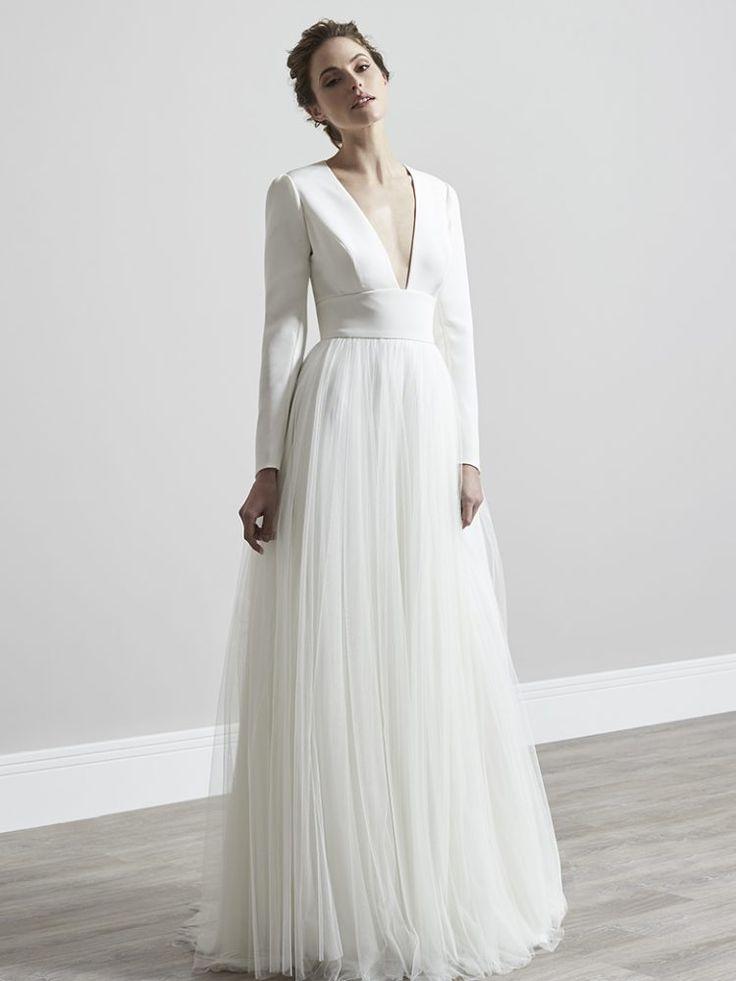 Vivian – Sassi Holford 2019 verzauberte Kollektion. Braut Couture, Designer Hoch…