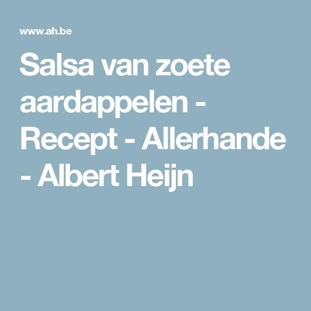 Salsa van zoete aardappelen - Recept - Allerhande - Albert Heijn