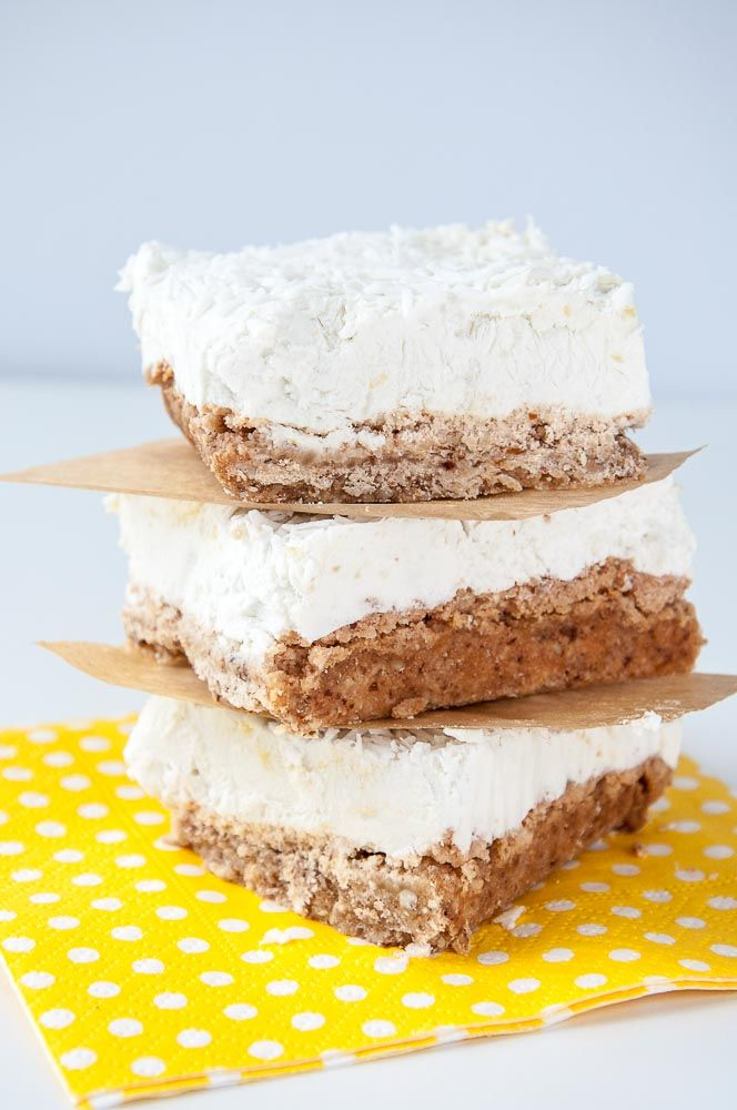 Vegan Lemon Cream Bars Recipe - Vegan Family Recipes