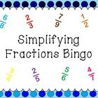 Product Description A bingo game for simplest form fraction. Good practice to find equivalent fractions as well. Common core aligned! Comes with 15...