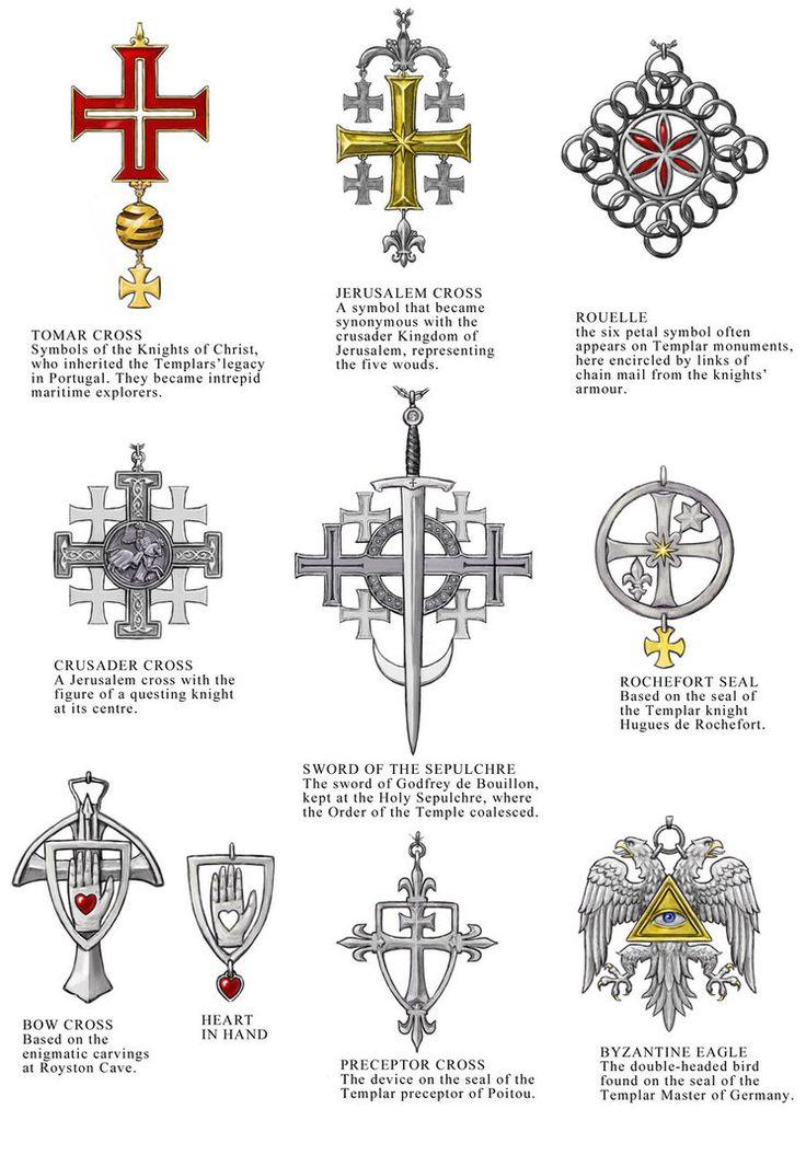 Knights Templar Shield Symbols