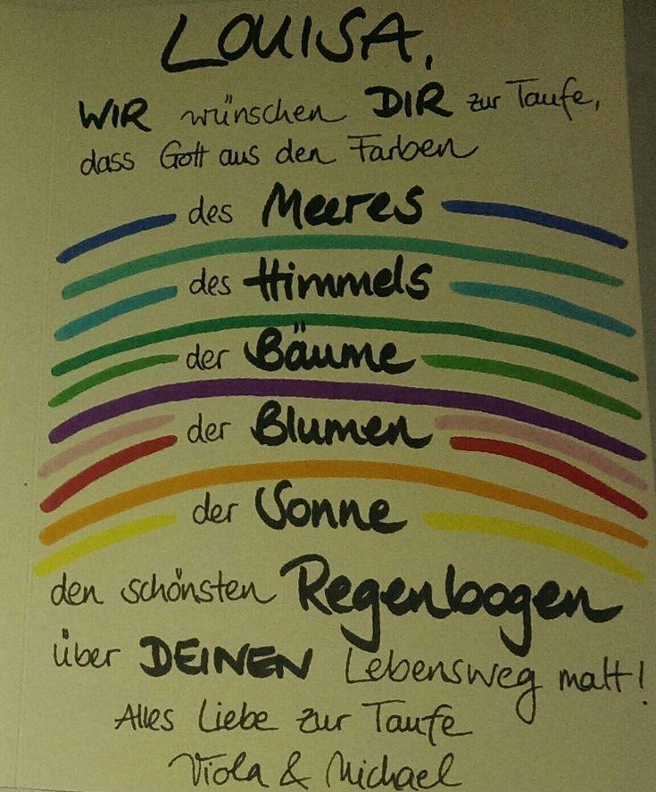 Glückwunsch zur Taufe Gott Regenbogen – #Glückwunsch #Gott #kerzen #Regenbogen… – Britta Fuchs