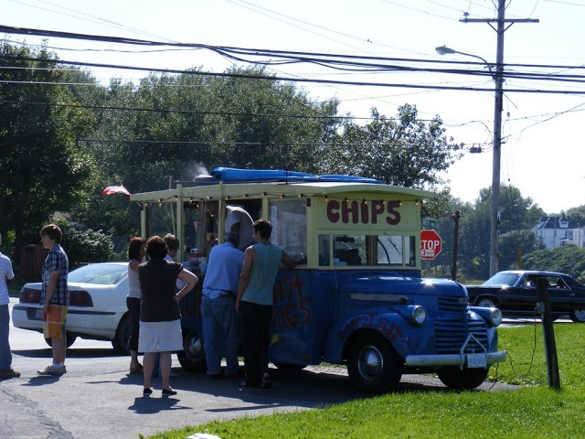 The World Famous, Glace Bay, Cape Breton, Nova Scotia, Chip Wagon Recipe For Fries | Photographs And Memories, Cape Breton, Nova Scotia