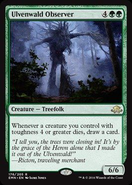 Magic: the Gathering - Ulvenwald Observer (176/205) - Eldritch Moon - Foil
