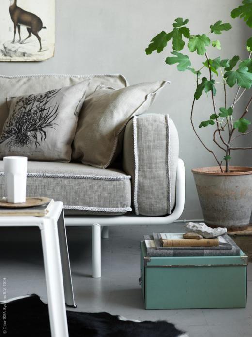 Ikea Ps 2012 3 Sits Soffa Fj Llung Kuddfodral Koldby