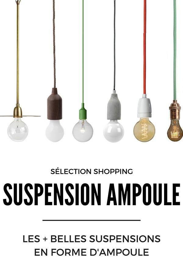 Suspension Ampoule : 19 Modèles à Découvrir !  http://www.homelisty.com/suspension-ampoule/