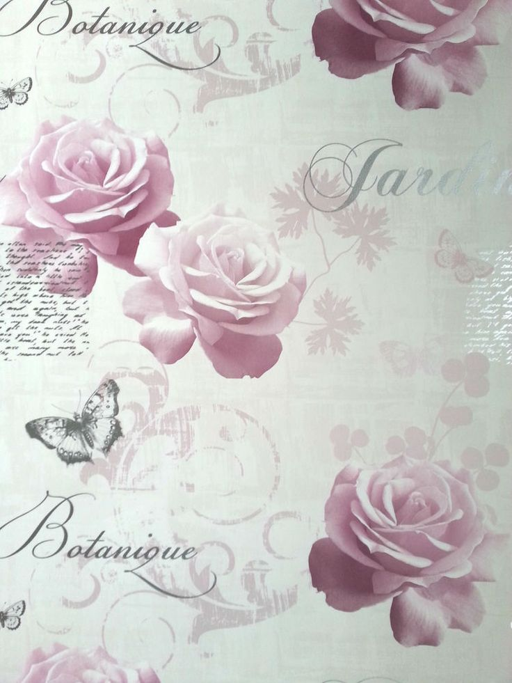 Pink vintage butterfly background - photo#31