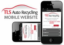 TLS Auto Recycling, an industry leader in auto dismantling and recycling, develops new mobile website for all major smart phones.