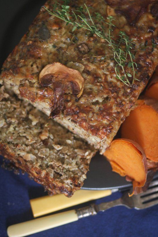 Winter Recipe: Classic Vegetarian Nut Loaf.  This looks really delicious, and much healthier than the veggie loaf recipe I have been making. A lot of work, and it makes two loaves, but it is very tasty. Not sure that all vegetarians like this, but I do and will make it again for myself when I have time. Makes great sandwiches sliced and served cold.