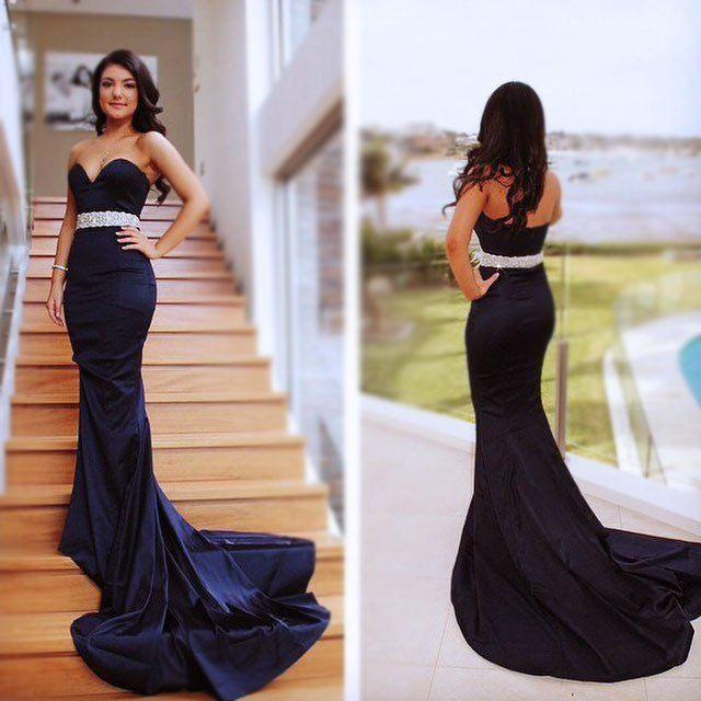 Elegant Long Dresses for Balls