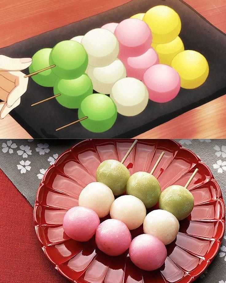Dango Dango recipe, Japanese dessert, Japanese sweets
