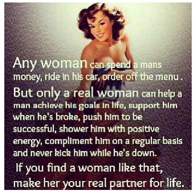 What you like in a woman
