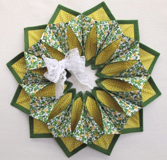 Www Fotoventasdigital Com Diy Burlap Wreath That Folding: 17 Best Images About QuIlTiNg FoLd N StItCh WrEaTh On