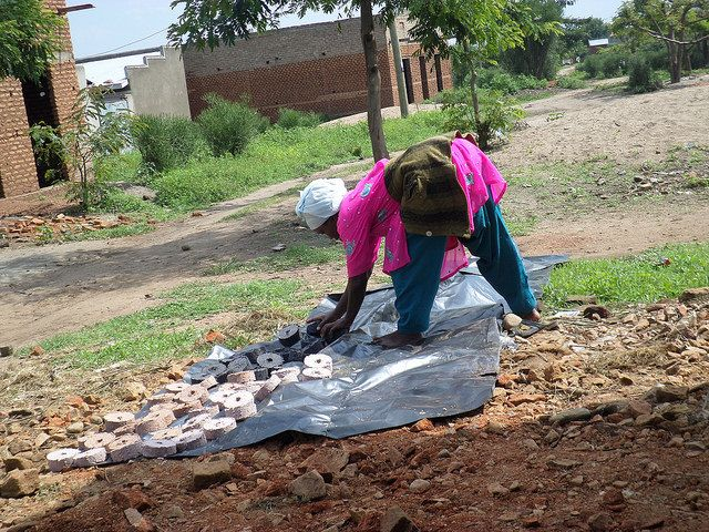 The Smokeless Charcoal program takes recycled materials and turns them in smokeless charcoal briquettes, addressing the health and environmental concerns in the community. (Nov. 15 East Africa Hub Grantee)