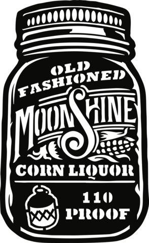 Old Fashioned Moonshine Corn Liquor - Plasma Laser DXF Cut File