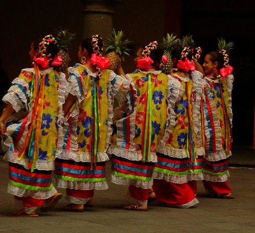 danza regional estados del sur