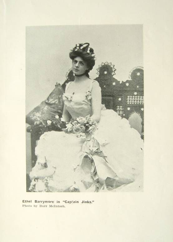 Ethel Barrymore | 1902 Ethel Barrymore Theatre Actress in Captain Jinks | eBay