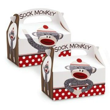 $.95  These are SO cute!!!!  they'd be adorable to put sock monkey cookies in...