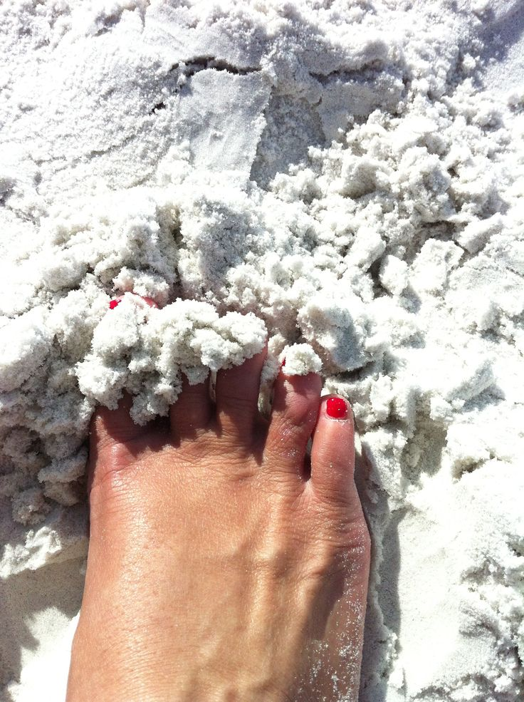 Siesta Beach on Siesta Key - the sand, is like no other; powder like and cool on the feet even in the hot weather!   One of the top beaches in the country.