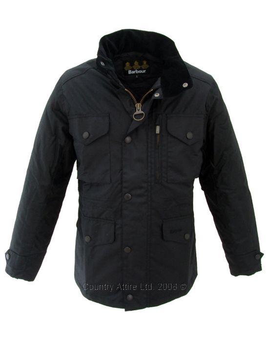 Barbour Men's Sapper Jacket - Black MWX0020BK91 (A359)