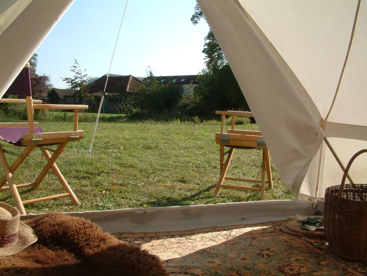 Indoors gone Outdoors!  Pukka 3M, 4M, 5M Zipped bell tents http://www.pukkatents.co.uk