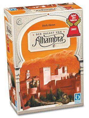 10 best board games: Alhambra