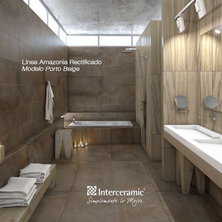 172 best pisos de madera images on pinterest homes - Ceramicas para banos ...
