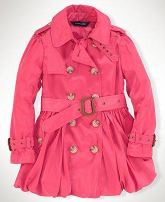 Ralph Lauren Kids Trenchcoat - 7-16 - Macy's