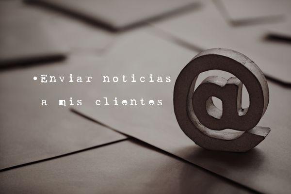 Envíos de #Newsletters. Para campañas puntuales o envíos mensuales podemos crear el diseño de un boletín corporativo que llegue a al correo electrónico de tus clientes.