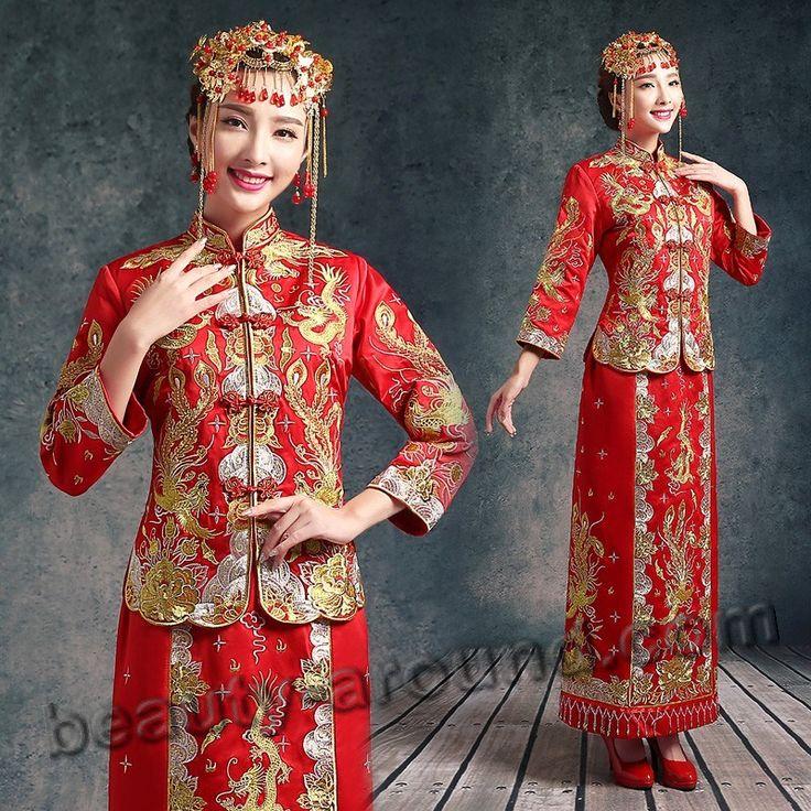 Китайская невеста в наряде фото