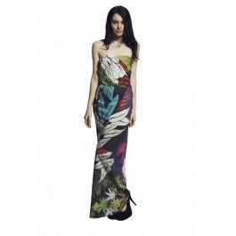 Liquorish Amaretto Sour Maxi Dress
