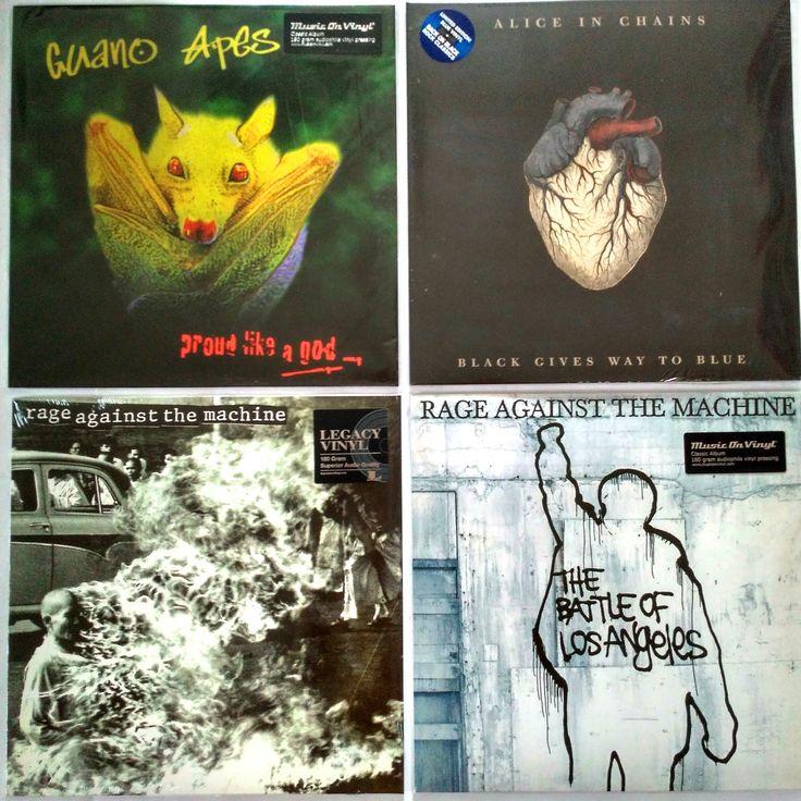 Guano Apes – Proud Like A God   – (M/NM) – 795 грн. Alice In Chains – Black Gives Way To BlueMint – (M/NM) – 985 грн. Rage Against The Machine – Rage Against The Machine – (M/NM) – 795 грн. Rage Against The Machine – The Battle Of Los Angeles  – (M/NM) – 795 грн.   #newindiskultura #diskultura #TrueVinylRecordsStore #kyiv #kiev #киев #київ #kyivshop #vinyl #винил #пластинки #GuanoApes #FunkMetal #AliceInChains #Grunge #RageAgainstTheMachine  #FunkMetal