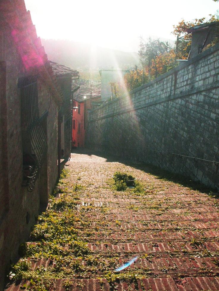 via per arrivare alla Chiesetta degli Zandri