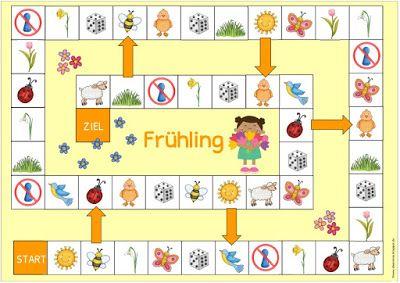 """Ideenreise: Spielfelder """"Frühling/Ostern"""""""