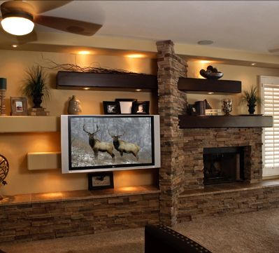 1000 Images About Great Ideas For TV Wall On Pinterest