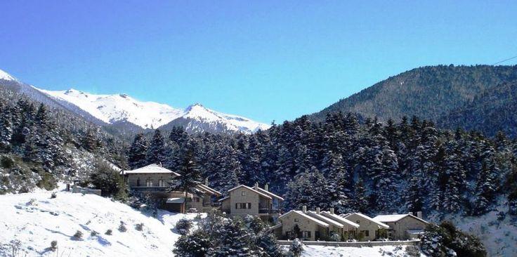 Τα σαλέ της Ελλάδας που θα σε κάνουν να θέλεις να αποκλειστείς στο βουνό  Georgios V Chalet Kalavryta