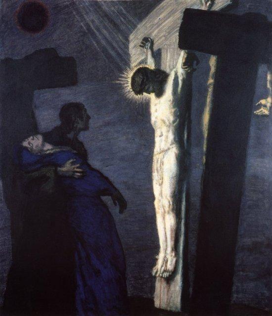 Crucifixion by Franz von Stuck