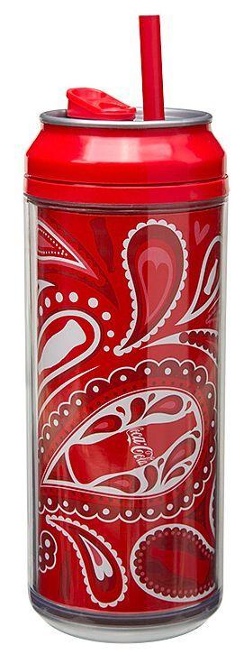 Puszka Coca Cola, czerwona (pojemność: 473 ml) - Cool Gear