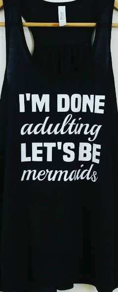 Mermaid tanks!