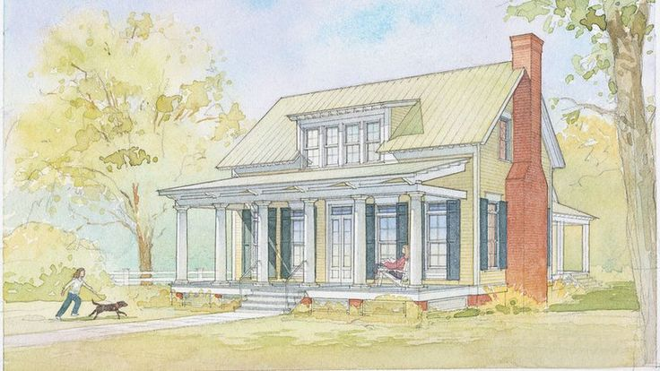#8 Lowcountry Cottage, Plan #1121