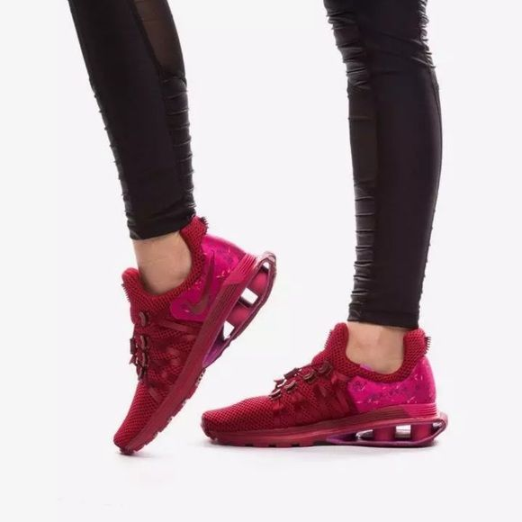 Nike Shox Gravity Red Crush Floral NEW